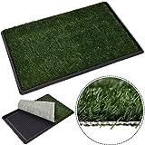 Giantex Puppy Pet Potty Training Pee Indoor Toilet Dog Grass Pad Mat Turf Patch