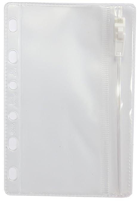 Filofax Pocket - Sobre con cierre para agenda de anillas