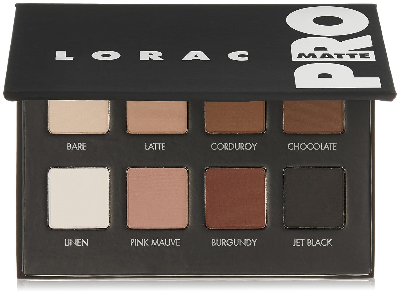 Amazon Com Lorac Pro Matte Eye Shadow Palette Premium Beauty