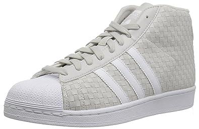Uomini Grigio Adidas Pro Model Originals Scarpe da basket