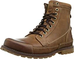 "Timberland Men's Earthkeepers 6"" Lace-Up Boot, Burnished Brown, 12 M US"