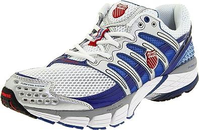 K-SWISS Konejo II Zapatilla de Running Caballero, Blanco/Azul/Rojo, 45: Amazon.es: Zapatos y complementos