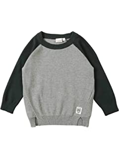 Name It NMMNUELON LS Knit Boys Pullover Organic Cotton