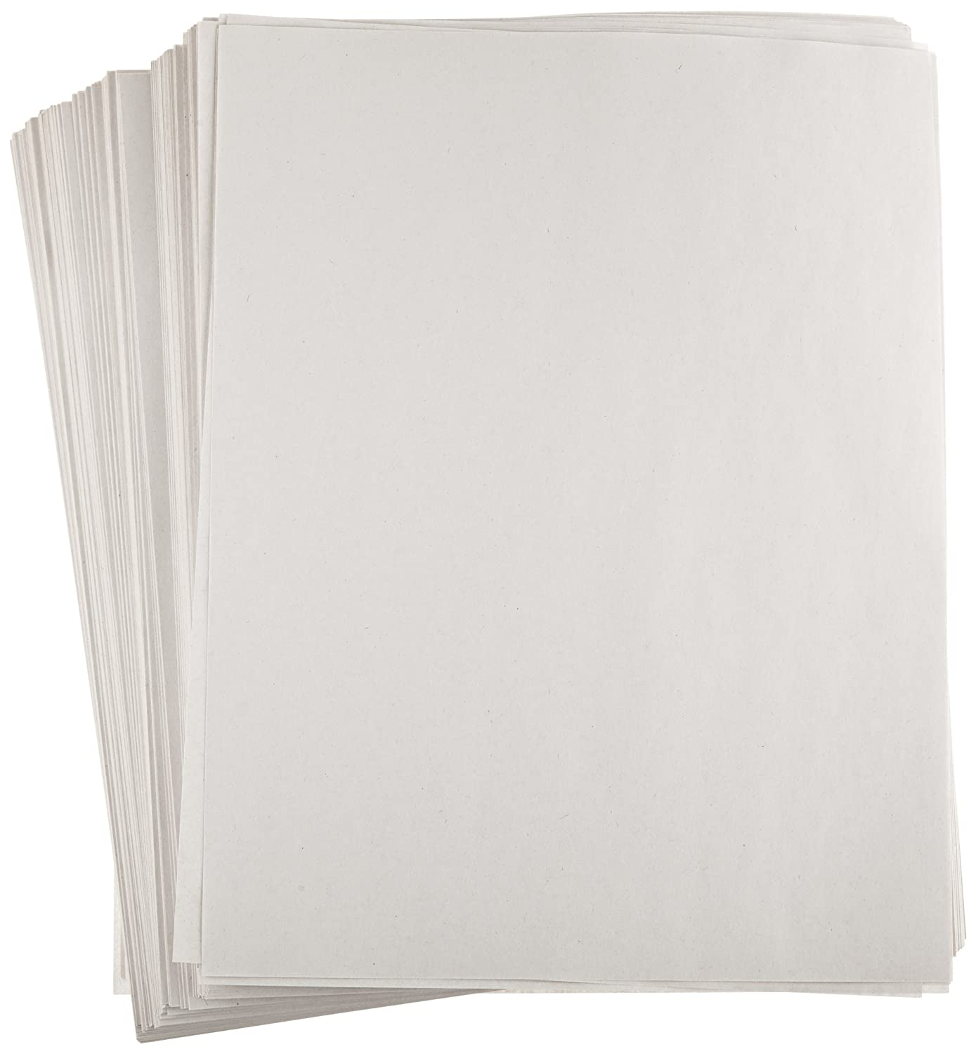 Sax Plain White Newsprint Newspaper - 8 1/2 x 11 inches - Pack of 500 - White