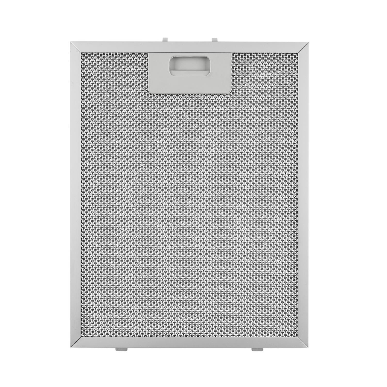 Adecuado para campanas extractoras Klarstein /Santa Clara 10031995 Klarstein Repuesto de Filtro de grasa de Aluminio 24,4 x 31,3 cm