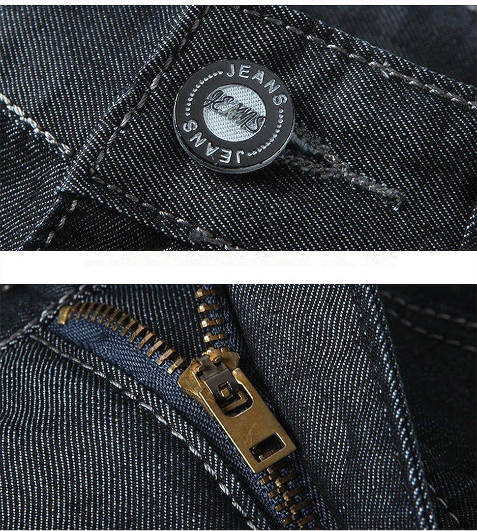 Bestor Fashion Mens Lightweight Regular fit Black High Waist Denim Jeans Short