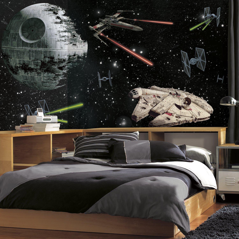 Vinilo Decorativo Pared [1c41qql4] Star Wars Vehiculos