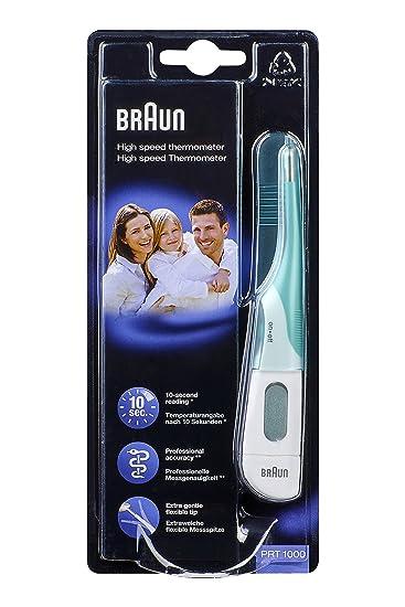 Amazon.com  Braun 66024800 – Thermometer mit flexibler Scherkopf ... 3969a7fdd8150