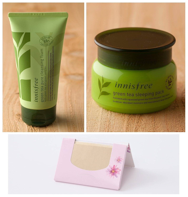 Innisfree The Green Tea Seed Cream 50ml Eye Sleeping Pack Health Personal Care