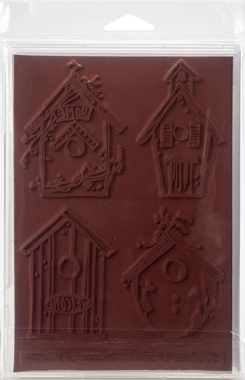 Darkroom Door DDRS200 Cling Stamps 7X5-Portrait Inchies Red