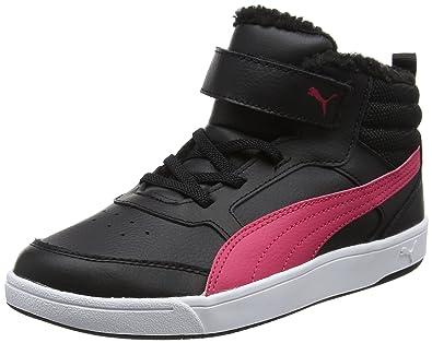 Puma Unisex Kids  Rebound Street V2 Fur V Ps Low-Top Sneakers ... aed704966