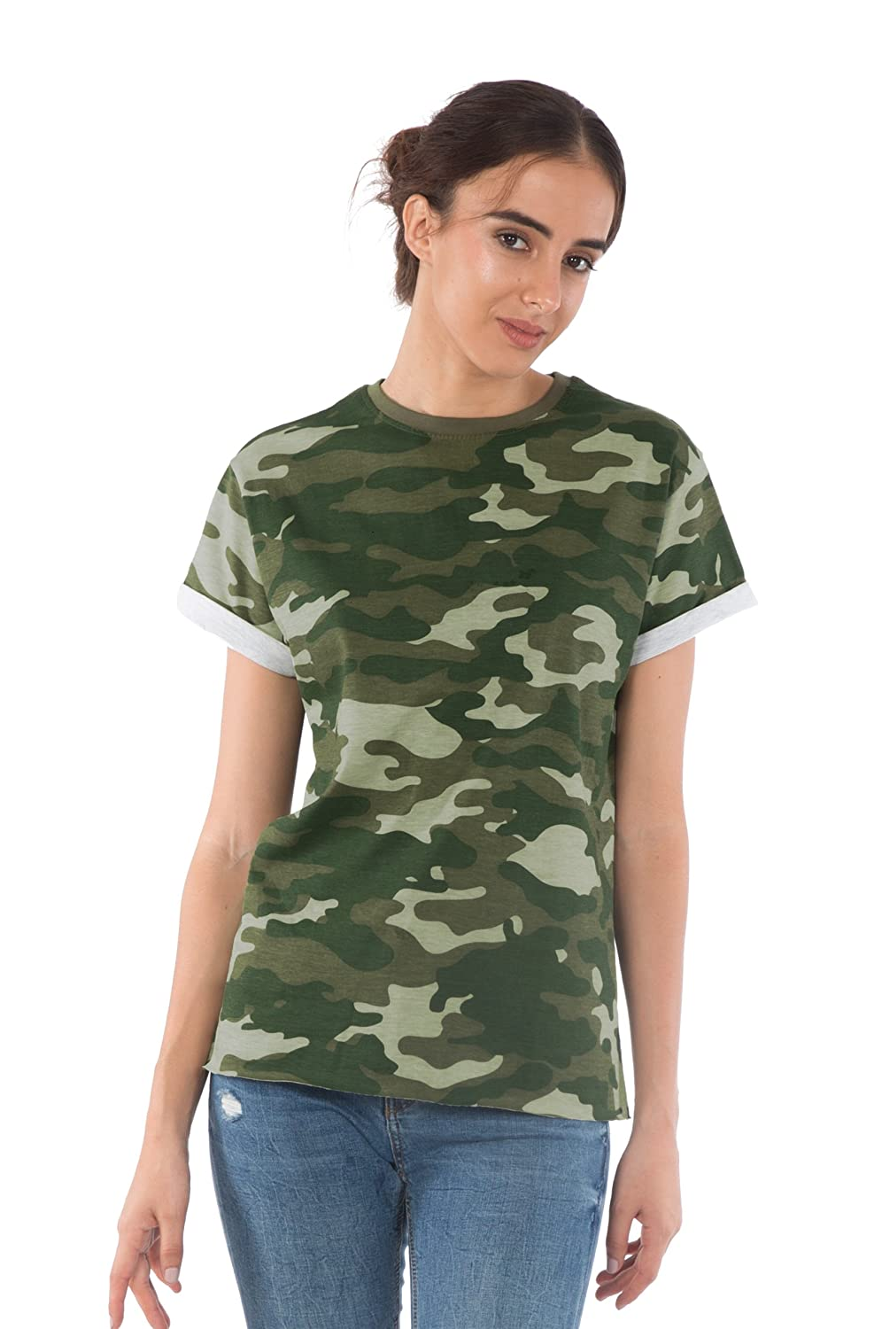 40aa86d46 Fabric - Women\'s boyfriend tshirts are made of 100% Cotton, SIngle Jersey  that is pre-washed to impart a softer texture.Airy and perspire-friendly  fabric ...
