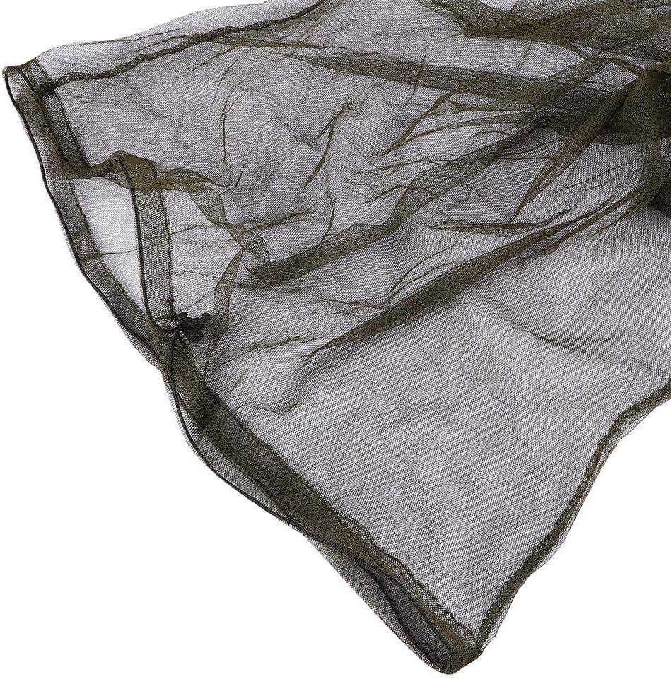 VGEBY1 Anti-Moskito-Kappe Faltbare Nylon-Maschen-Hut-Fischen-kampierende Maske f/ür Block-Insekten-Moskito