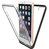 New Trent Skyrika Full-body Bumper Case for Apple iPhone 8 Plus (2017) / iPhone 7 Plus (2016) with Built-in Screen Protector and Transparent Back Casing for iPhone 8 Plus (2017) / iPhone 7 Plus (2016)