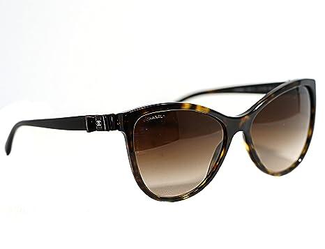 Amazon.com: Chanel Diseñador anteojos de sol Para Mujer CH ...