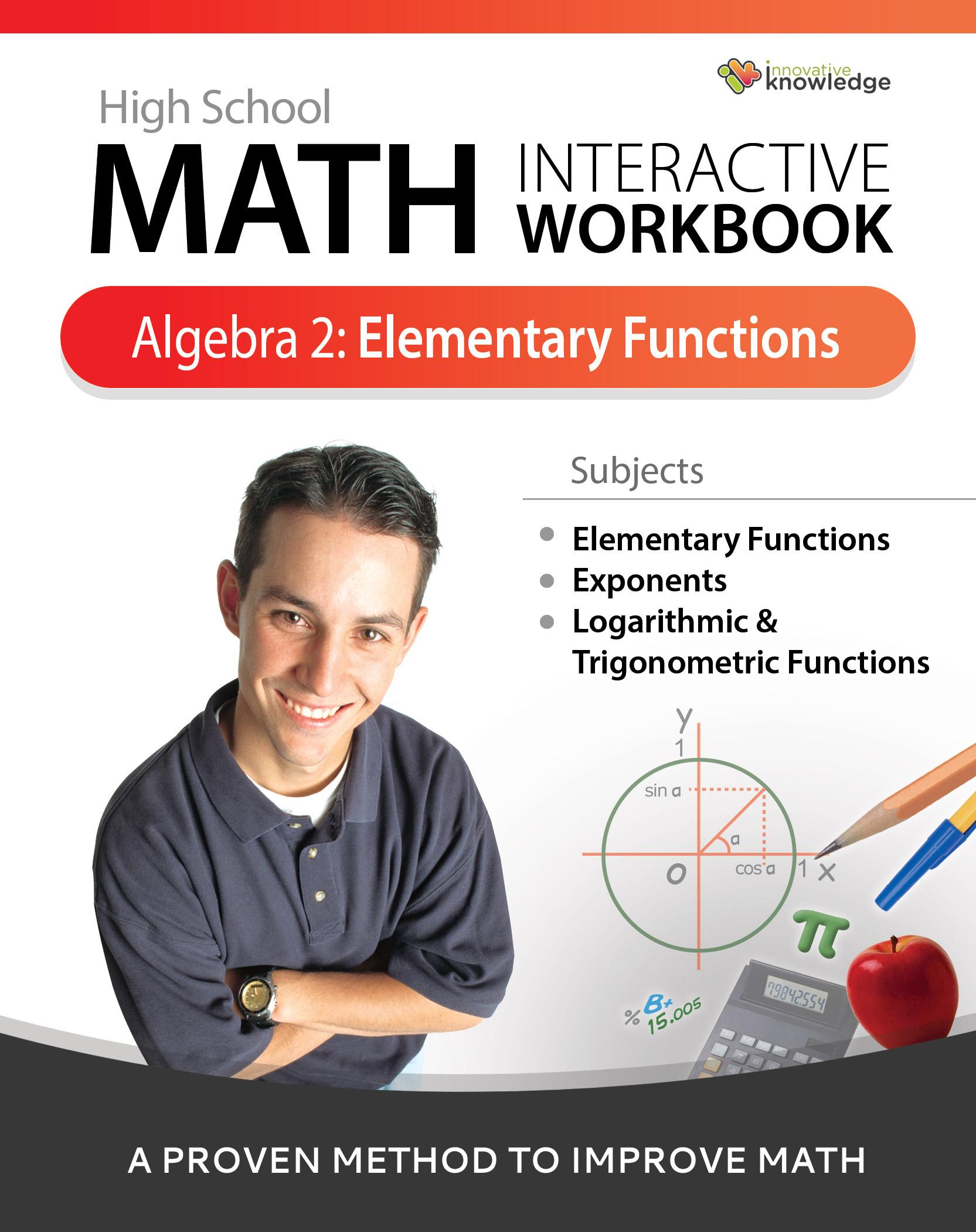Math Interactive Workbook: Algebra 2- Elementary Functions [Online Code]