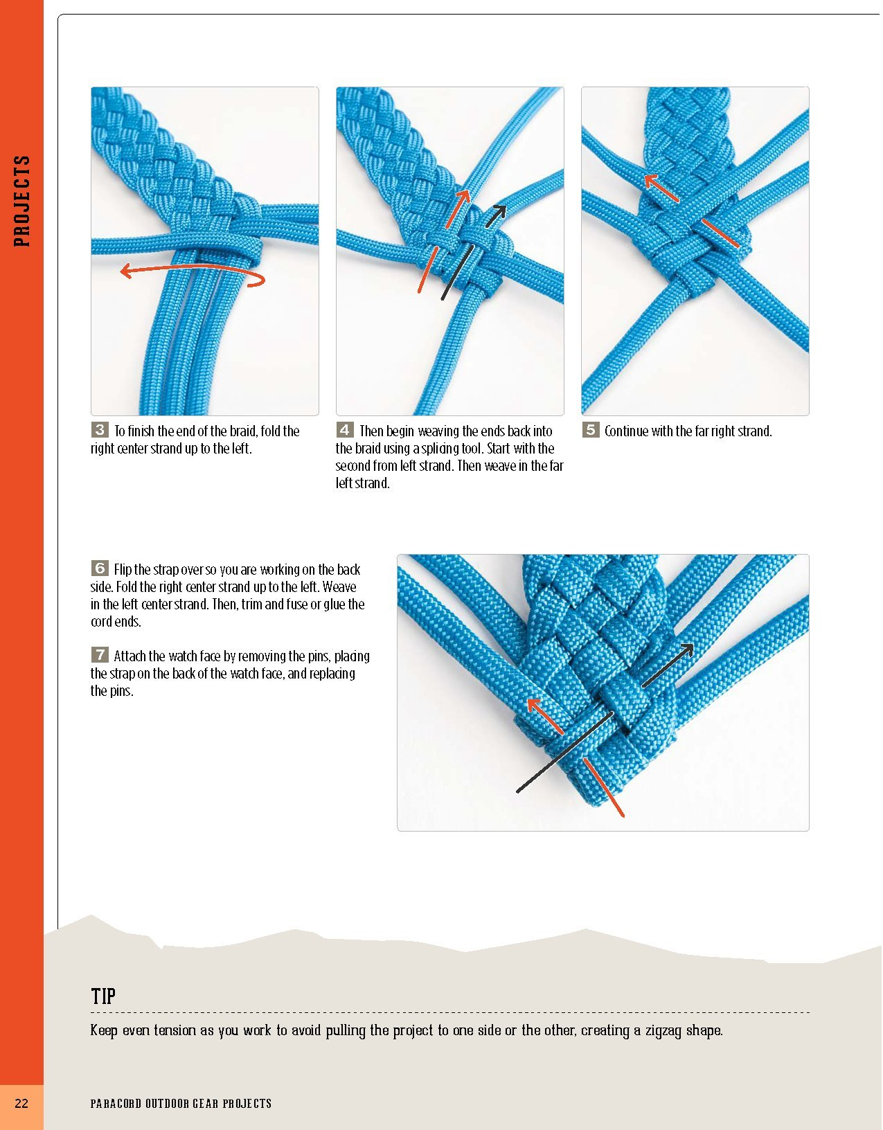 Amazon Paracord Outdoor Gear Projects Simple Instructions For