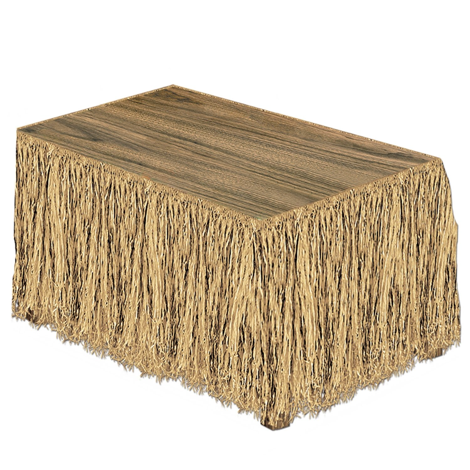 Amazon.com: Raffia Table Skirting (natural) Party Accessory (1 Count)  (1/Pkg): Group Publishing: Kitchen U0026 Dining