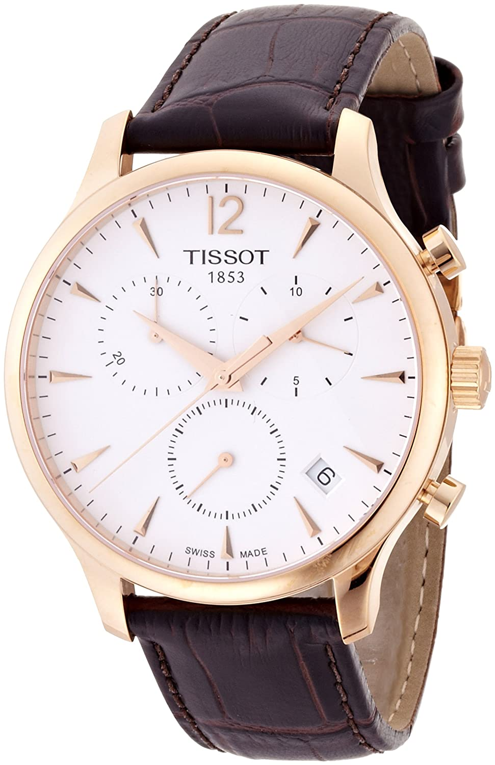 Tissot Men's T0636173603700 Tradition Analog Display Swiss ...