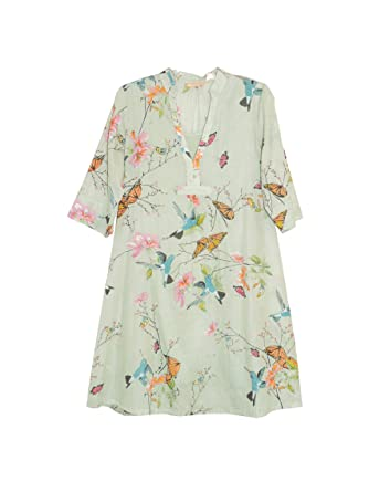 aab0ed7adc9 La Cera Women s Hummingbird Print Dress Plus Size at Amazon Women s  Clothing store