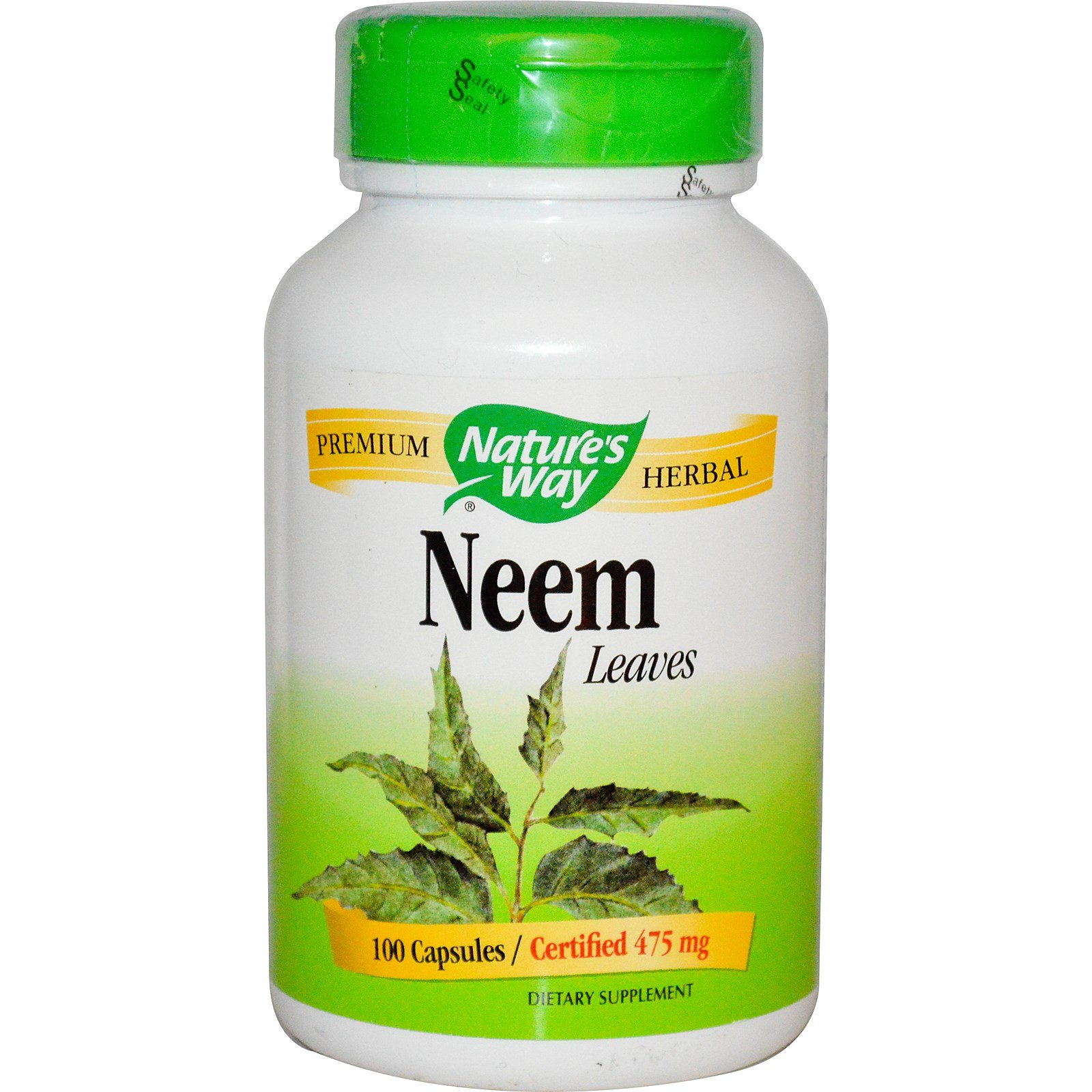 Nature's Way Neem Leaves 100 caps ,pack of 3
