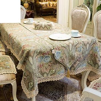 JPL Table Simple Tissu Tissu Table Basse Maison Nappe Table Tissu ...