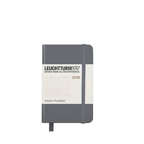 Amazon.com: Leuchtturm1917 357845 - Agenda semanal (2019 ...