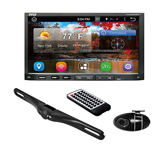 Amazon Com Premium 7in Double Din Android Car Stereo Receiver With