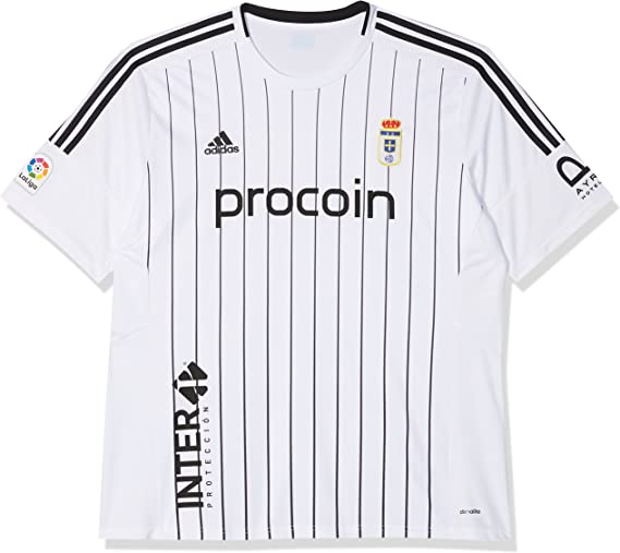 adidas Fort14 Jsy P Camiseta Real Zaragoza Fc, Hombre: Amazon.es ...