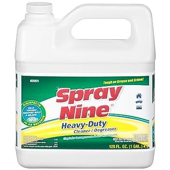 Spray Nine Heavy-Duty 1 Gallon Alkaline Concrete Cleaner