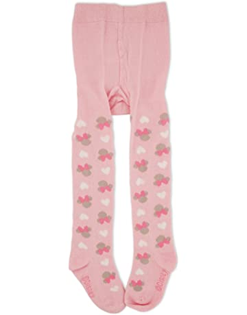 7d2066a00912a6 Disney Baby Girls Minnie Mouse Polka Dot Tights
