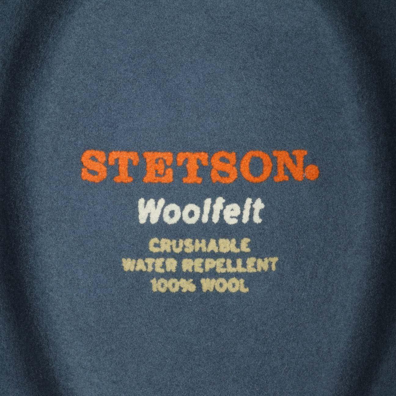 Herrenhut Packable Wollfilzhut Sommer//Winter Asahi Guard/® Hut aus Wollfilz Stetson Richmond Trilby Damen//Herren - Filzhut Wasserabweisend