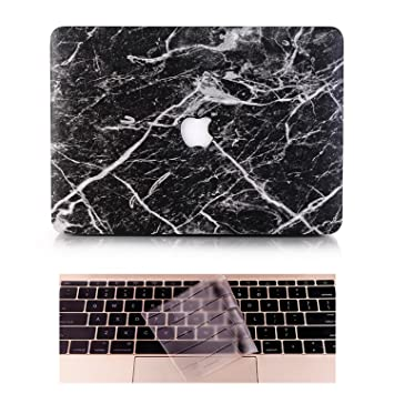 L2W Funda Apple Macbook Portatil Air Carcasa Rígida Protector de Plástico Cubierta Para MacBook Air 13 Pulgadas (Modelo:A1466/A1369) Incluso ...
