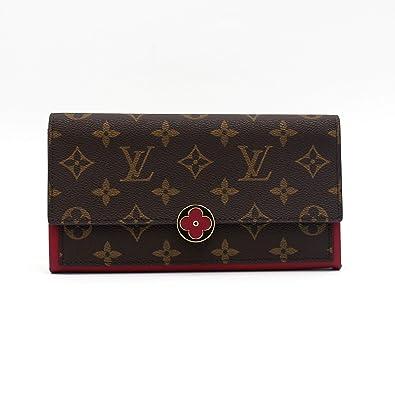 c47a1715e867 LOUIS VUITTON ルイ・ヴィトン 長財布 財布 ポルトフォイユ・フロール M64585 フューシャ
