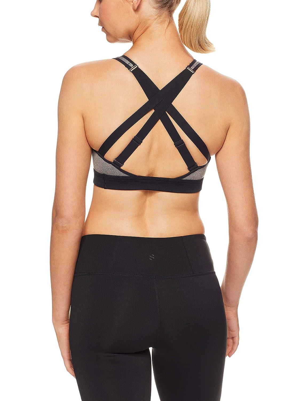 Nike - Sujetador Deportivo para Mujer, Mujer, 928925-091, Gris ...