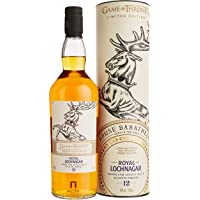 Royal Lochnagar 12 Jahre Single Malt Scotch Whisky - Haus Baratheon Game of Thrones Limitierte Edition  (1 x 0.7 l)