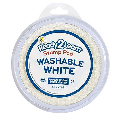 Center Enterprise CE6624 Circular Washable White Stamp Pad: Industrial & Scientific