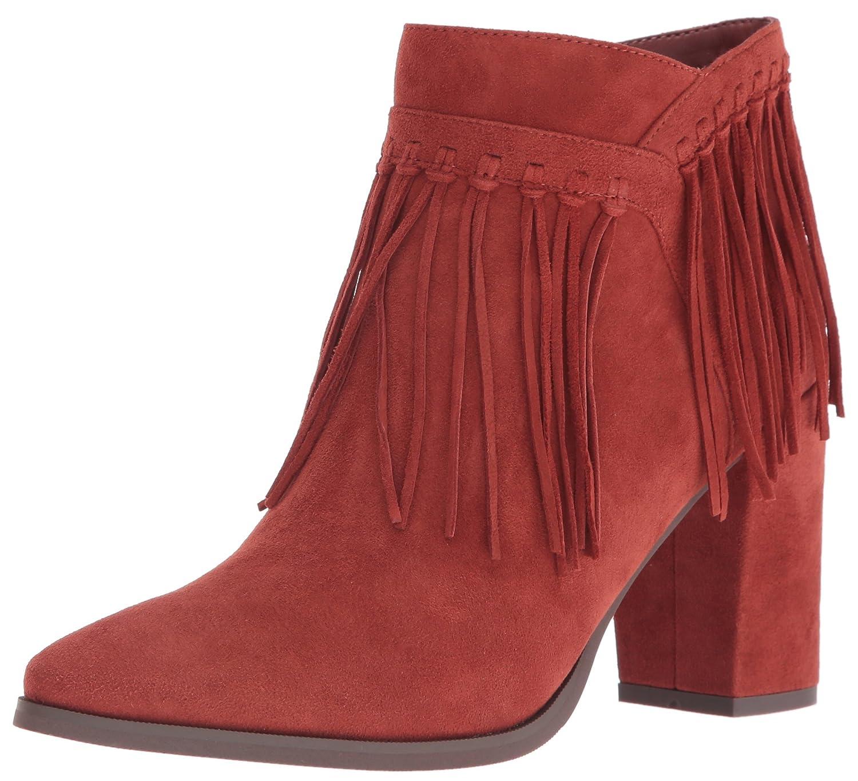 Nine West Women's Wildbelle Ankle Bootie B01KMDS8IK 6 B(M) US|Dark Orange
