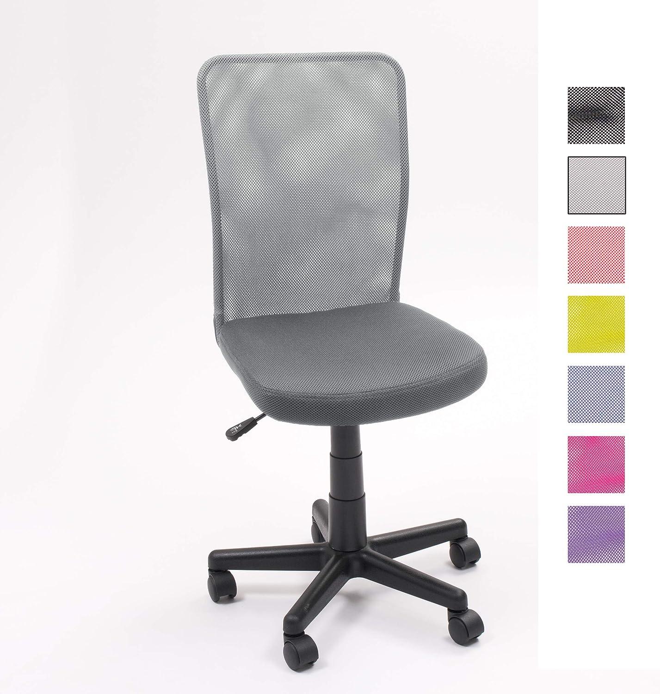 Homely - Silla de escritorio y estudio juvenil, giratoria con ...