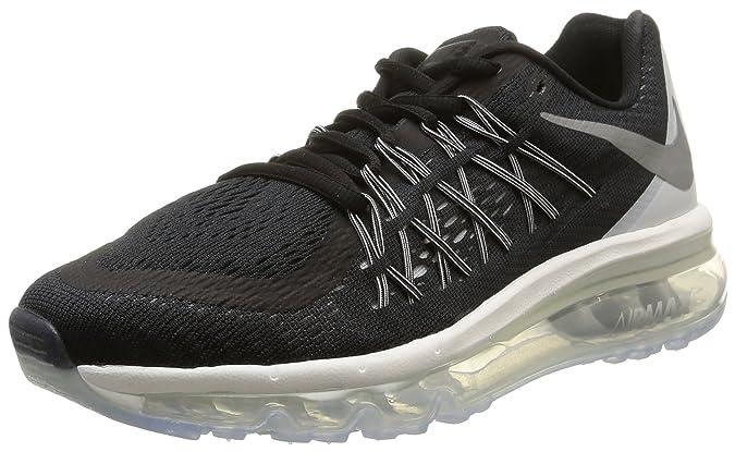 Nike Wmns Air Max 2015 - para Hombre, Black/rflct slvr-Wht-SMMT Wht, Talla 38