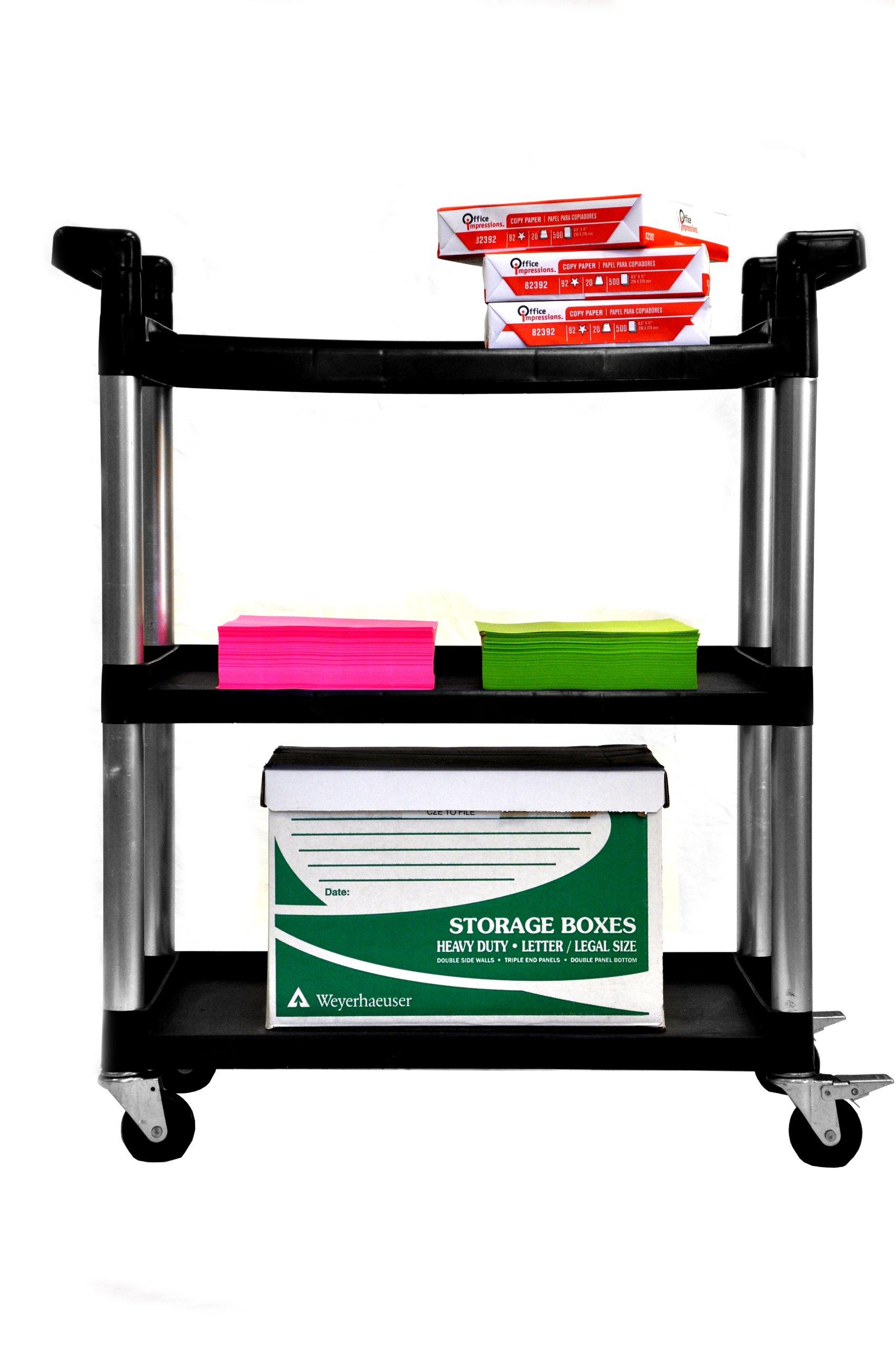 Trinity 3-Tier Utility Cart by Trinity