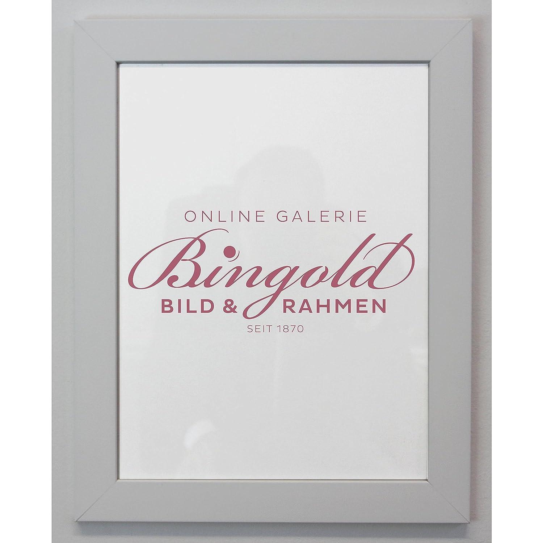 Amazon.de: Online Galerie Bingold Bilderrahmen Florenz Weiß 4, 0 ...
