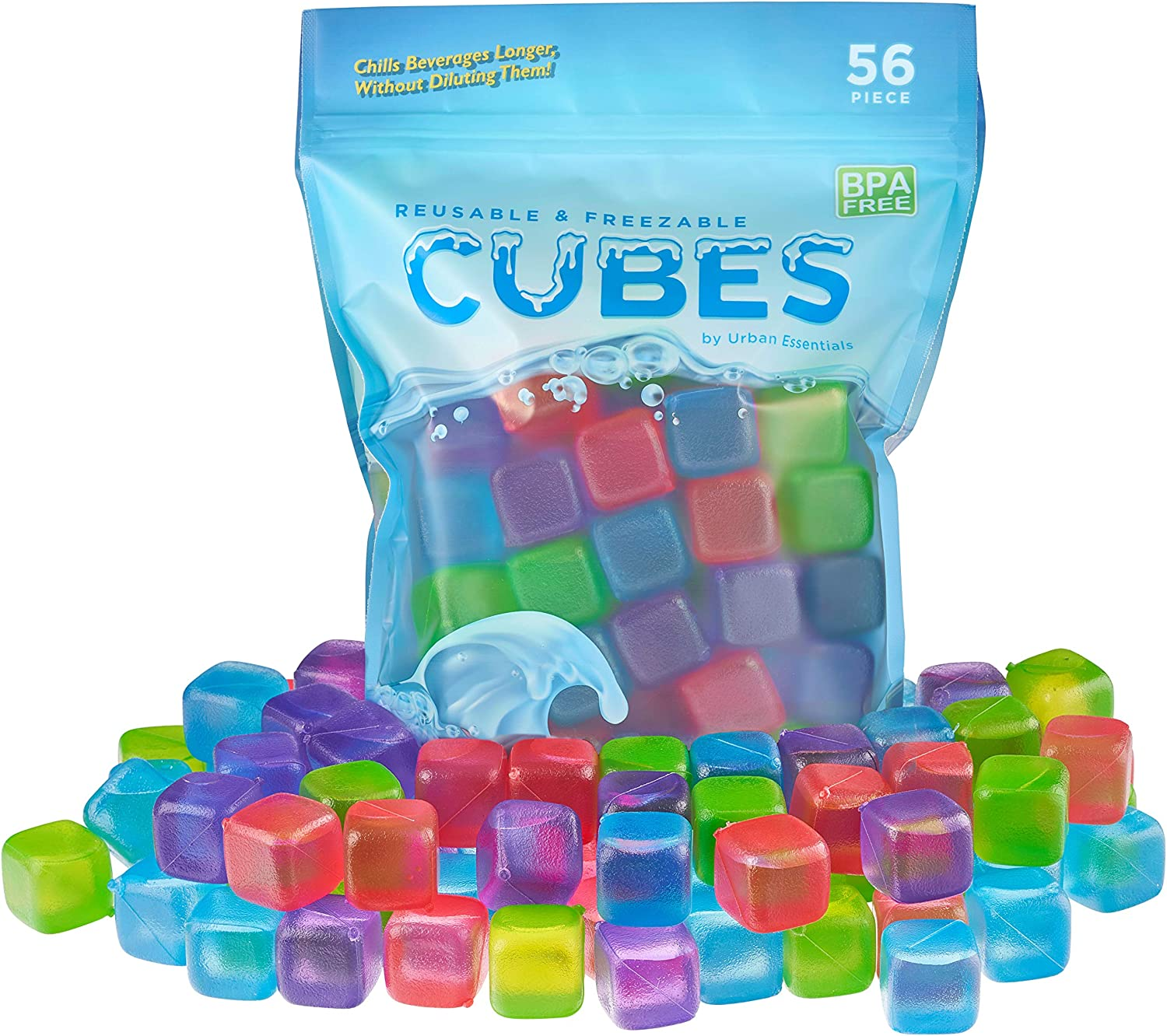 10 Ice Cubes Fake Ice Cubes Artificial Ice Cubes