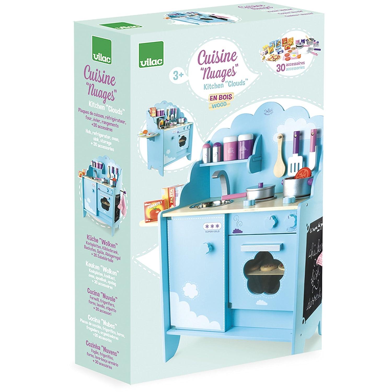Vilac Vilac8107 Sky Blue Kitchen Unit: Amazon.co.uk: Toys & Games on