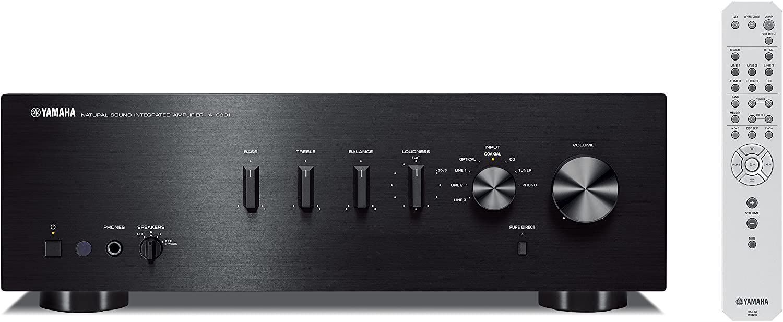 Yamaha AS-301 - Amplificador híbrido, 95W, estéreo, entrada ...