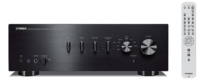 Yamaha AS-301 - Amplificador de transistores para Hogar, negro: Amazon.es: Electrónica