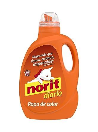 Norit - Detergente líquido para Ropa de Color, 28 lavados - 1500ml
