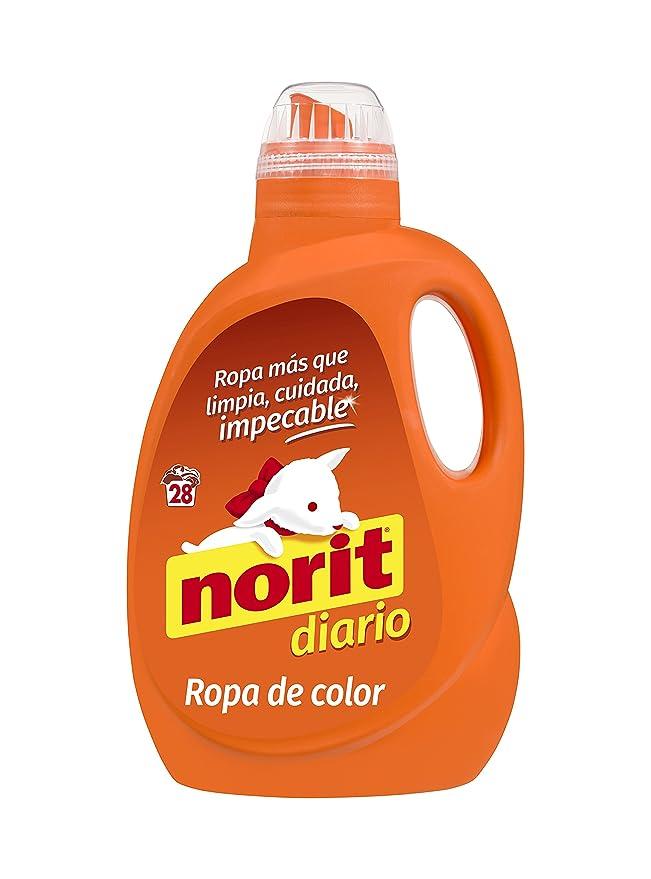 Norit - Detergente líquido para Ropa de Color, 28 lavados - 1500ml: Amazon.es: Alimentación y bebidas
