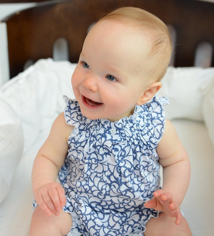 Plumas bebé niñas ropa algodón Pima ANGEL manga corto de una pieza sunsuit burbujas pelele de bebé: Amazon.es: Bebé