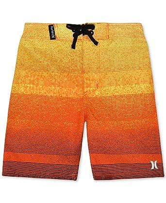0fc0398186 Amazon.com: Hurley Boys Kids Zion Boardshorts Swimwear (Hyper ...